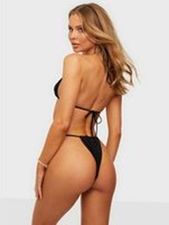 Missguided Itsy Bitsy Bikini Bottom Black