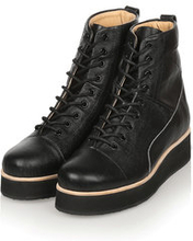425g Black Top Grain Leather