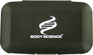 Body Science Pilleæske 12,5x7,5x3 cm