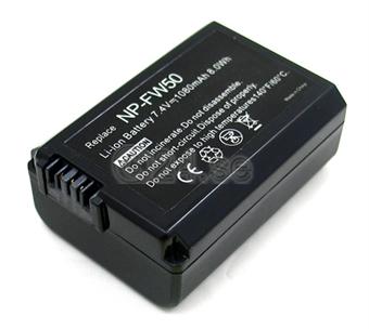 Akku Sony FW50:lle