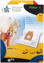 Dammsugarpåsar PH84 till Philips 4-Pack