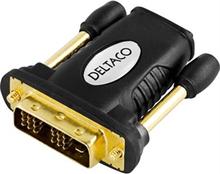 HDMI adapter 19-pin hona till DVI-D Single Link hane