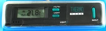 Lämpömittari autoon sisä/ulko