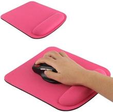 Ergonominen hiirimatto - Roosa Väri