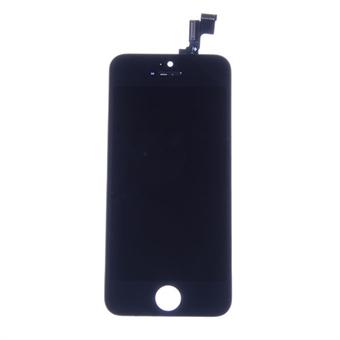 LCD+Touch - näyttö iPhone 5S Musta