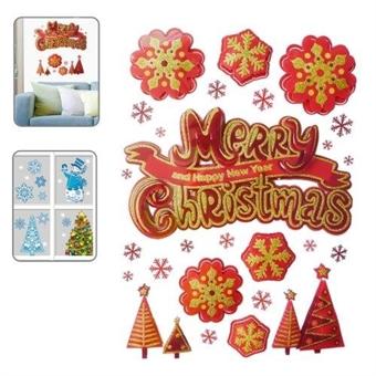 Seinätarrat Joulukoriste Merry Christmas