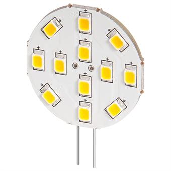 LED-lamppu G4 2W 6200K 190 Lm