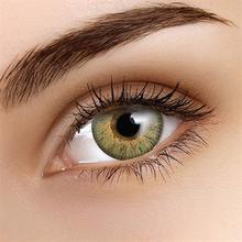 Värilliset Linssit Flash Glam Vihreä - 3 Kuukautta 1fb672bb29
