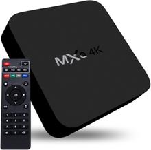 4K Full HD Mediasoitin RK3229 kaukosäätimellä - HDMI, WiFi, Miracast, DLNA
