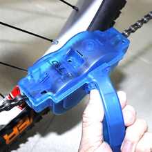 Polkupyörän ketjujen puhdistuslaite