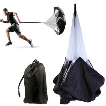 Parachute run - Fallskjerm for løping