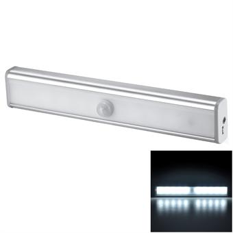 Vaatekaapin lamppu valo - ja liiketunnistimella - 3 tilaa, Trådlöst uppladdningsbart rörelseaktiverad
