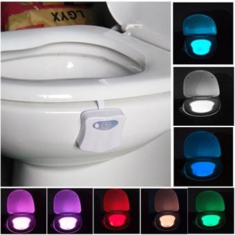 Kylpyhuoneen valaisin 8 väriä LED