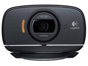 Logitech HD Webcam C525, 720p, bredbildsformat, 8mp, mikrofon, autofokus, vikbar, skype, lync