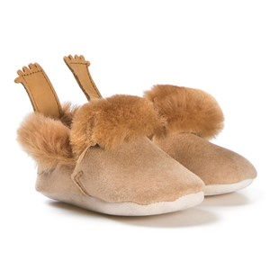 Easy Peasy Minion Shearling Crib Shoes Tan 18/19 (UK 2-3) - Babyshop