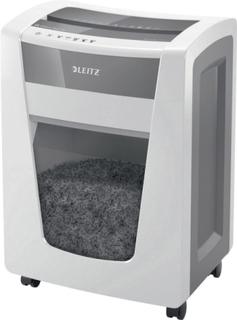 Leitz IQ Office Pro P-5 Makulator Partikelsnit 2 x 15 mm 30 l Arkantal (max.): 15 Sikkerhedstrin (makulator) 5 Makulerer også Hæfteklammer, Papirclips