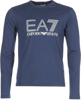 Emporio Armani EA7 Langærmede T-shirts TRAIN LOGO SERIES M PREMIUM TEE LS Emporio Armani EA7