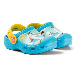 Crocs Creative Crocs Disney Frozen Olaf Clogs Electric Blue 19 EU - Babyshop