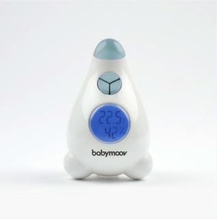 Babymoov digitalt termometer/hygrometer blå