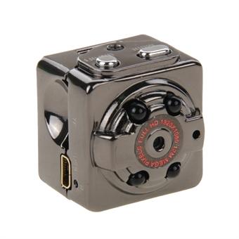 Vakoilu kamera Mini Full HD 1080P 30fps DV IR Sensoriohjattu