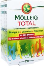 """Kosttillskott """"Möllers Total"""" 28-pack - 87% rabatt"""