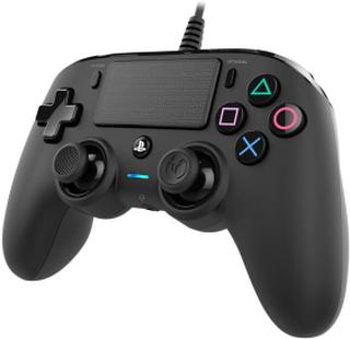 Wired Compact Kontroll Svart (PS4/PC)