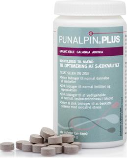 Punalpin® PLUS (180 tabl.) Granatæble, galanga, aronia, zink, selen