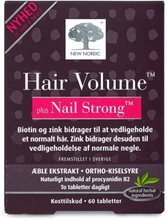 New Nordic - Hair Volume Plus Nail Strong - 60 Stk