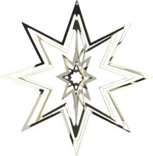 Holmen - Istind Julepynt Stjerne Gull 8 cm Metall