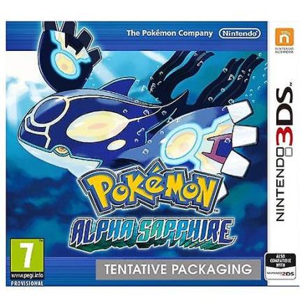 Pokemon Alpha safir 3DS spil - Fruugo