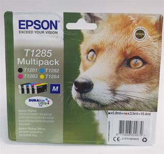 EPSON T1285 Multipakk Fox blekkassett