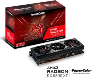 Radeon RX 6800 XT Red Dragon - 16GB GDDR6 RAM - Grafikkort