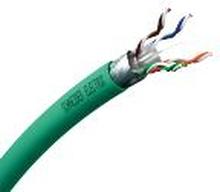 Actassi Datakabel KAT.6A S/UTP, 1x4P, DCA, grøn, T500/afmålt