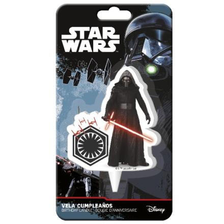 Star Wars kagelys, 7,5 cm, 1 stk - TheFairytaleCompany