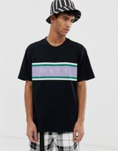 Obey Charm Classic t-shirt in black - Black