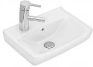 Ifö Spira håndvask 415 x 310 mm. Hanehul venstre. 15048