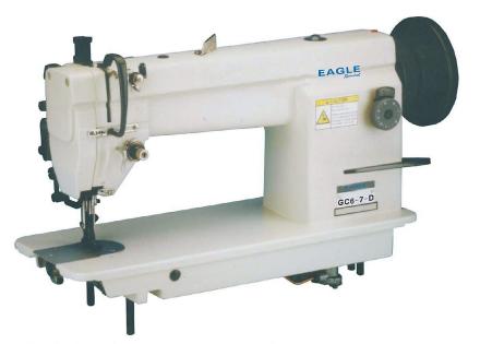 Eagle GC6 - 7D gå foten industrielle rett maske automatisk symaskin...