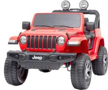 Elbil för barn Jeep Wrangler - Röd