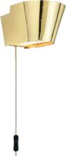 Gubi - 9464 Væglampe, Messing/ Messing