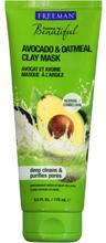 Freeman Tonerde Maske Avocado & Hafermehl 175 ml