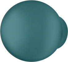 Rund knopgreb, Ø23, vandblå, polyamid