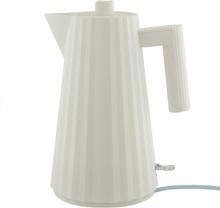 Alessi Plissé vedenkeitin 1,7 L, valkoinen