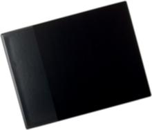 Skrivunderlägg 53x40 cm med ficka svart