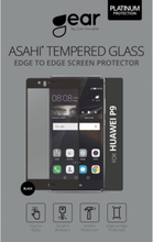 GEAR Härdat Glas Huawei P9 Full Fit Svart