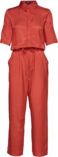 Slzaldana Jumpsuit Jumpsuit Orange Soaked In Luxury
