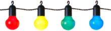 Partyslinga LED 20 lampor, multifärgad