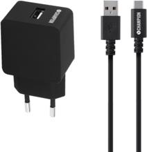 Champion Ladd/Synk Kit USB-C 2.4A Svart