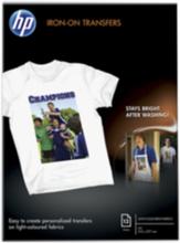 T-shirt transfer Vit A4 12 ark