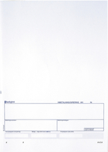 Standardblankett Bankgiro, 250 st