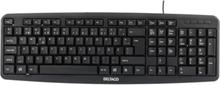 DELTACO Deltaco tastatur, nordisk layout, USB, svart